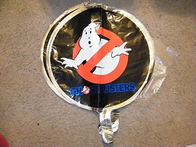 Vintage 1984 Ghostbusters Mylar Balloons New Package Of 25 Made In The Usa