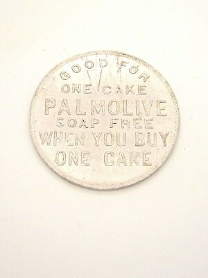Vtg Palmolive Soap token Good for one cake soap free Palmolive-Peet Co.