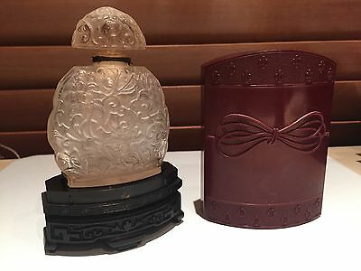 Kobako Bourjois Perfume Bottle and Case - Vintage