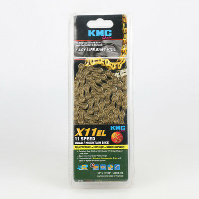 KMC X11.93 11-Speed Stretch-Proof Bike Chain 116L fits Campagnolo SRAM Shimano