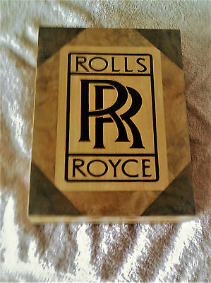 ROLLS ROYCE LOGO -Solid wood jewellery box