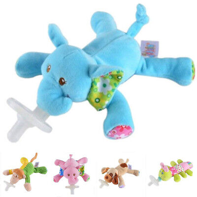 Animal Toy Cute Baby animal Fox Infant Binkie Pacifier Soothie Stuffed