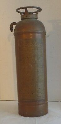Empty Vintage The Cambar Fire Extinguisher Cameron & Barkley Co.