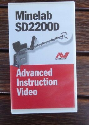 Minelab Advanced Instruction Video for the SD 2200D