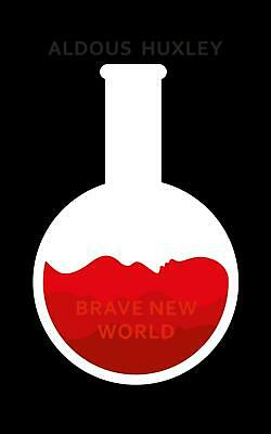 Brave New World by Aldous Huxley Hardcover Book Free Shipping!