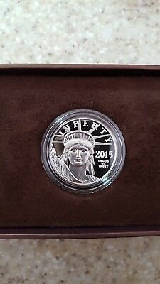 2015-W Platinum Eagle Proof Coin