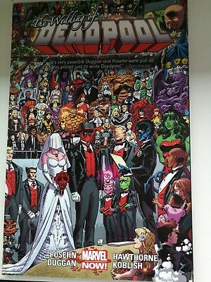 deadpool comic by marvel comics/ deadpool wedding in perfect condition