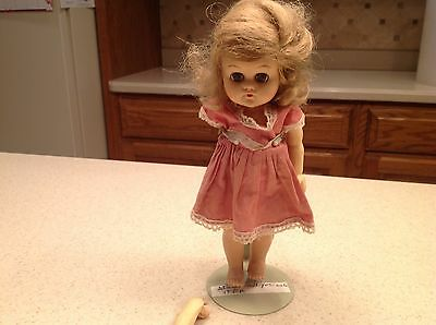 Effanbee Fab Girl Pam?  Vinyl Doll Parts Or Repair Has 2 Unattached Arms