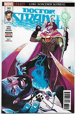 Dr Strange #382 Marvel Legacy Donny Cates The Sentry 1St Print Unread Nm