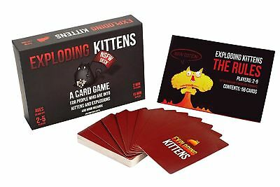Exploding Kittens: NSFW Edition (Explicit Content ADULTS ONLY) - Smartasin