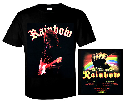 RAINBOW official T-Shirt MONSTERS OF ROCK - Ritchie Blackmore - Ronnie Romero