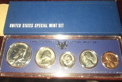 1966 United States Special Mint Set Silver Kennedy Nice Sets Free Shipping