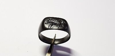 Greek Ring with Boar. 4th-3rd century BC.