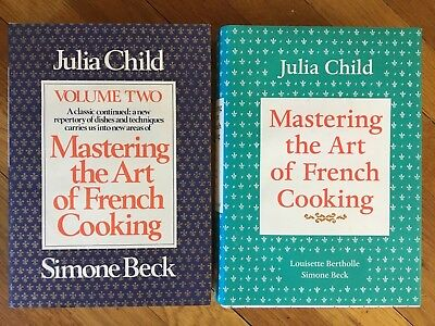 Julia Child Mastering The Art Of French Cooking Volumes 1 & 2 Hardcover