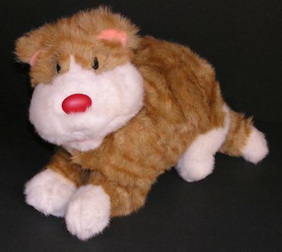 "Big Comfy Couch Snicklefritz Cat Kitty Clown Plush 12"" 1995 Commonwealth Stuffed"