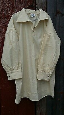 Historical reenactment fur trade era longhunter shirt sz. XL
