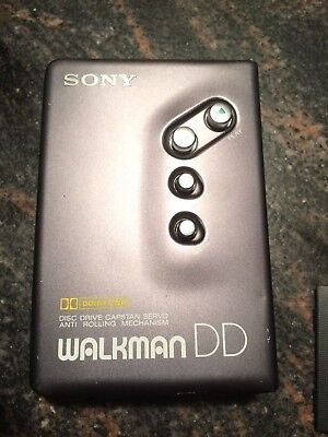 Sony WM-DD11 Cassette Player Walkman Dolby B NR Capstan Servo Retro Vintage Rar