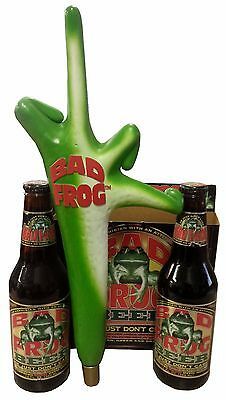 BAD FROG BEER Tap Handle, BAD FROG Tap, BEER Handle, Beer knob, Bad Frog Tapper