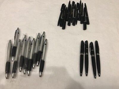 25 Mix Lot Of Pens black Color  new free ship Good Quality