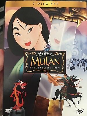 Disney Mulan (DVD, 2004, 2-Disc Set, Special Edition) good condition