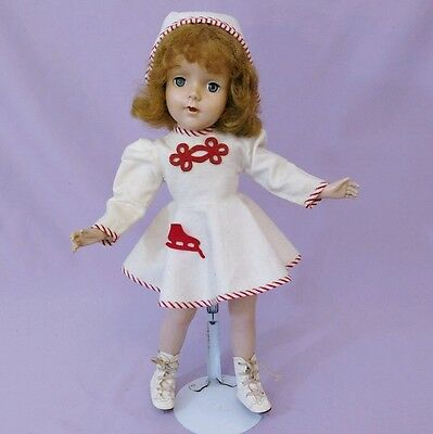 "PRETTY 17"" Hard Plastic SWEET SUE DOLL by AMERICAN CHARACTER 1950s"