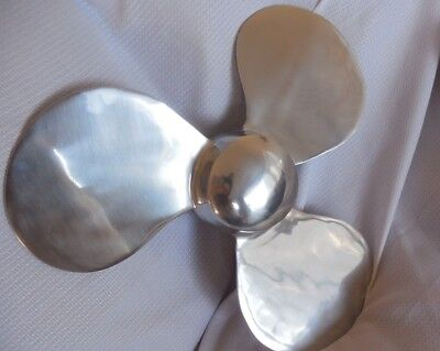 Pottery Barn Kids Metal Boat Propeller Decor Boat Nautical NLA NWOT