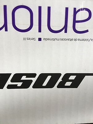 BOSE COMPANION 2 SERIES III BLACK COMPUTER SPEAKER SYSTEM New in sealed box!