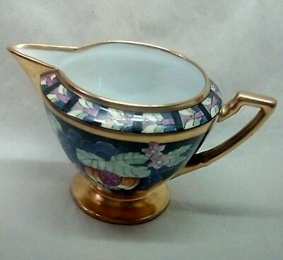 Beautiful Art Deco Pickard Hand Painted Creamer