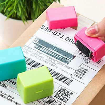 Self Inking Identity Theft Protection Confidentiality Stamp Roller