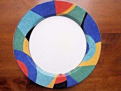 """Victoria & Beale Casual Accents 9019 Dinner Plates, set of 4, 10.75"""" dia"""
