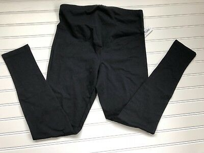 Old Navy Black Maternity Full-Panel Jersey Leggings--NWT--XSmall/XS
