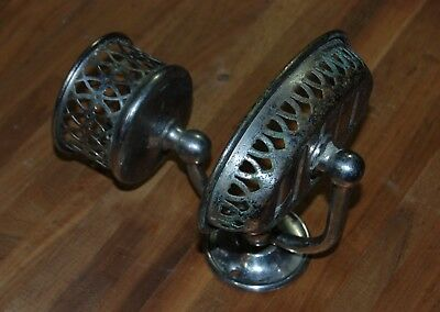 Nickel Plated Brass Soap & Cup Holder Sternau Brooklyn Antique Bathroom