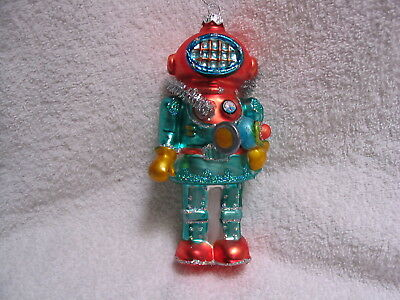 Deep Sea Diver Glass Ornament Tropical Beach Ocean Air Mask Tank Flashlight