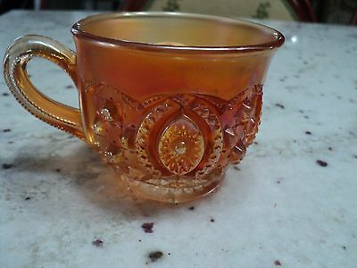 Vintage Carnival  NORTHWOODS MEMPHIS PATTERN  CUP