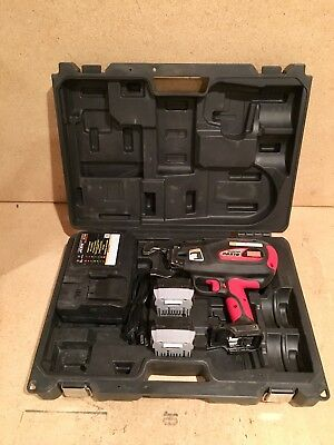 MAX RB 518 Cordless Battery-Operated Rebar Tier Tying Machine Tool