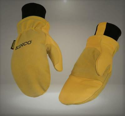 Kinco 901T-L-1 Premium grain & suede pigskin, Heatkeep lining, extra-strong Dray