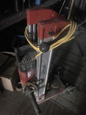 Hilti Hand Held Core Drill Model DD 130 with Stand