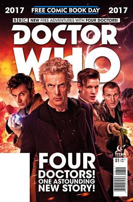 Doctor Who - Free Comic Book Day Issue 2017 - Fcbd Four Doctors