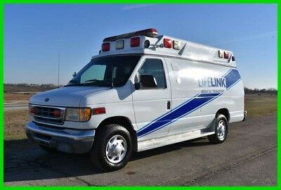 1999 Ford E-350 7.3 Diesel Ambulance Extra Clean! No Reserve Auction!