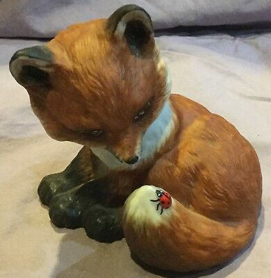 Baby Fox Figurine Outfoxed