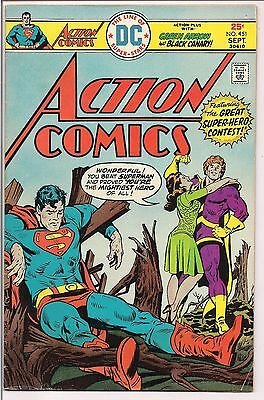 Action Comics #451 (Sep 1975, DC) Combined Shipping, No Extra Charge