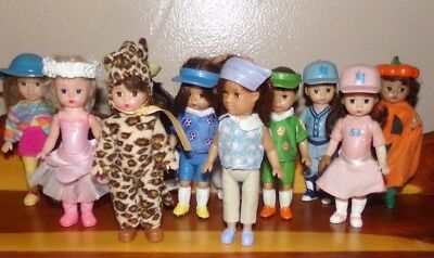 McDonalds Madame Alexander Doll LOT OF 11 ~ all Diffrent ~Hannah Pumpkin Leopard