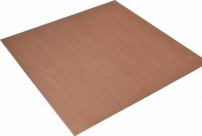 "11"" x 12"" Copper Sheet Metal, 16 oz., 24 gauge - FREE SHIPPING"