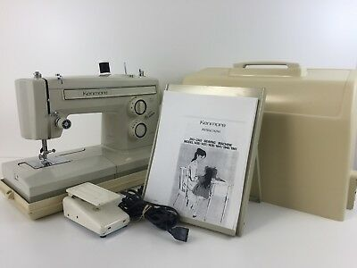HEAVY DUTY KENMORE FREE ARM SEWING MACHINE model 158-1946, upholstery, All Metal