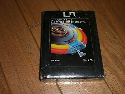 """Electric Light Orchestra """" Out Of The Blue"""" Sealed 8 Track new"""