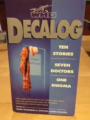 Doctor Dr Who Book Decalog Ten Stories New Missing Adventures Virgin 1994