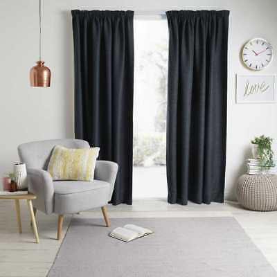 NEW Gummerson Rylee Pencil Pleat Curtain By Spotlight