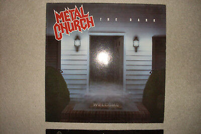 Metal Church The Dark Vinyl first Press 1986 mit Autogramm Metal LP