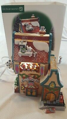 Department 56 Jack in the Box Plant No. 2 #56705 North Pole Series Retired
