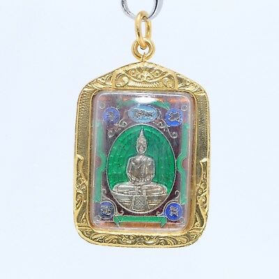 Thai amulet Buddha pendant,LP Sothorn good luck , Fortunately pendant.(No.8)